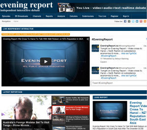 EveningReport.nz - Independent Interactive Realtime Debate.